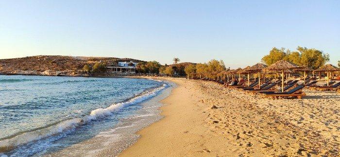 Parasporos beach Paros