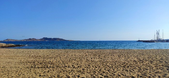 Piperi beach Naousa Paros