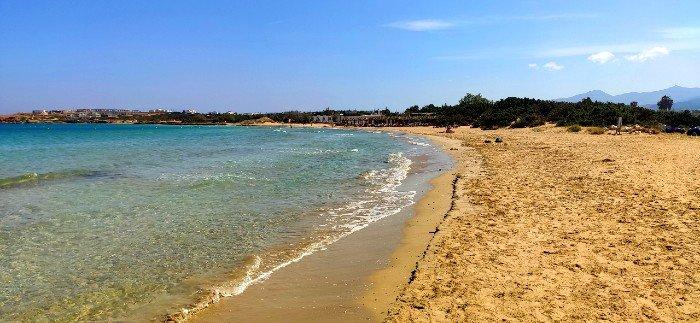 Santa Maria best beaches on Paros island