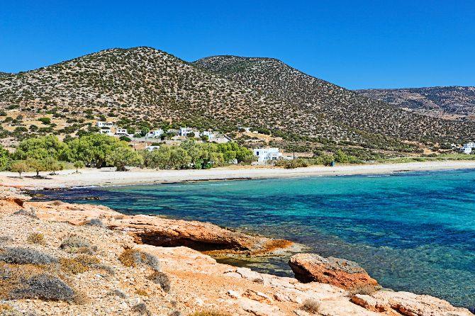 Best beaches Naxos island