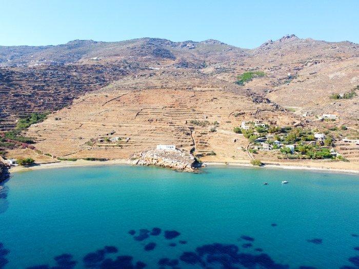 Agios Petros beach Tinos island