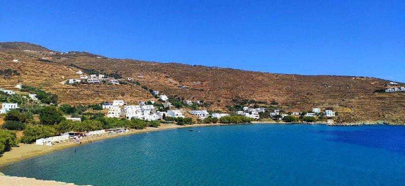 Agios Romanos beach tinos