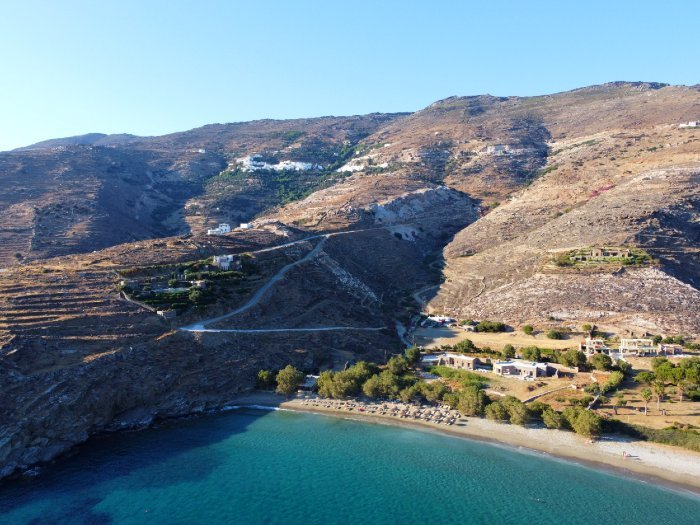 Kalyvia beach Tinos island