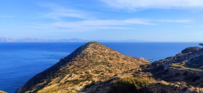 Mersini village donousa island