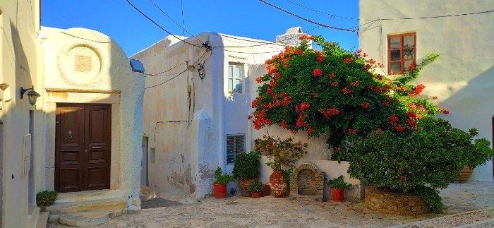 Naxos chora kastro castle