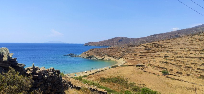 apigania best beaches in tinos